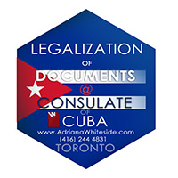 Legalization of documents at the consulate of Cuba - marriages, weddings, articles of incorporations.