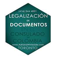 Legalization of documents at the consulate of Colombia